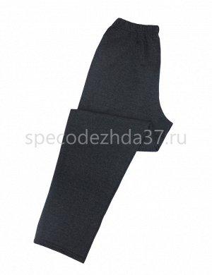 Брюки мужские с начёсом цв.серый тк.футер 2-х нитка