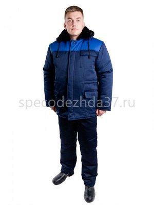 "Костюм рабочий зимний ""Персонал СТ37"" тк.грета (куртка+брюки) 3 кармана"