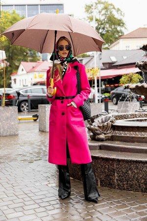 Пальто Пальто Vesnaletto 2869-2  Состав: Вискоза-35%; ПЭ-58%; Шерсть-7%; Сезон: Осень-Зима Рост: 164  Пальто демисезонное, прямого силуэта, выполнено из пальтовой ткани.Застежка на петли и пуговицы,