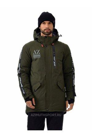 Мужскaя зимняя куртка-парка Azimuth A 8522 Хаки