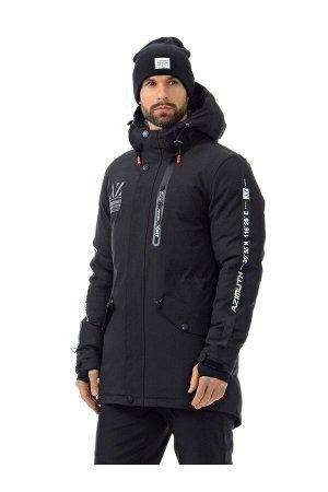 Мужскaя зимняя куртка-парка Azimuth A 8522 Черный