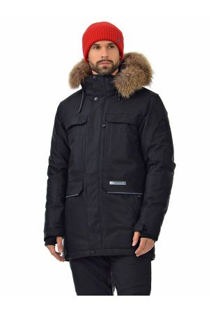 Мужская куртка-парка Azimuth A 21804_104 Черный