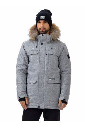 Мужская куртка-парка Azimuth A 21804_105 Светло-серый