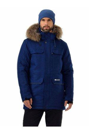 Мужская куртка-парка Azimuth A 21804_106 Джинс