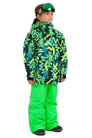 Детский зимний костюм Gsou Snow 401_005 Green