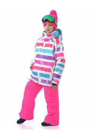 Детский зимний костюм Gsou Snow 401_006 Pink