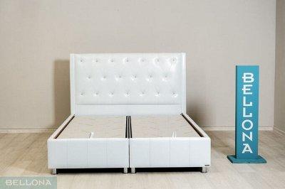 BELLONA мебель - Мы опережаем моду. Рассрочка платежа — FLORA-N кровать с мягким изголовьем