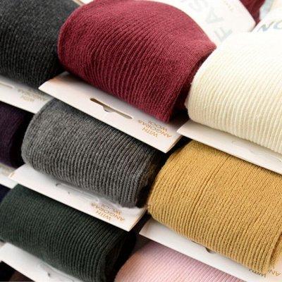 Теплая женская одежда и обувь. Шапки, шарфы, колготки — Корейские колготки тонкая полоска
