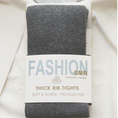 Теплая женская одежда и обувь. Шапки, шарфы, колготки — Корейские колготки гладкие, без рисунка