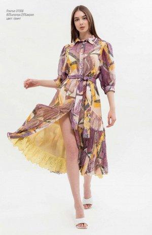 Платье принт