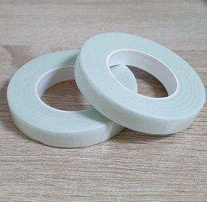 Тейп лента, 1,2 см, цвет грязно-белый