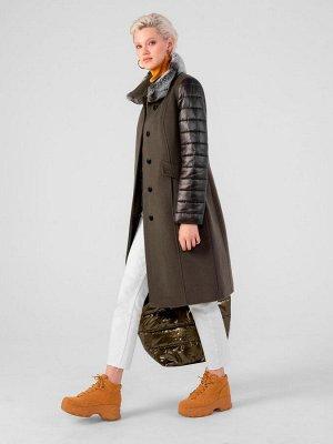 Пальто женское зимнее м. 1015901p60246 Пальтовая ткань