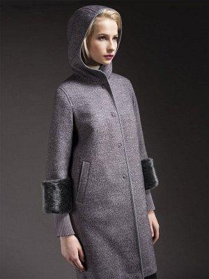 Пальто женское зимнее м. 1017270p60291 Пальтовая ткань