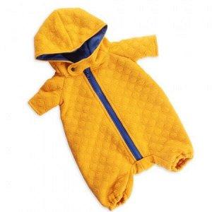 Оранжевый стеганый комбинезон  (комплект одежды для Басика)