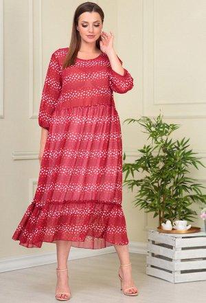 Платье Anastasia Mak 884-824 малина