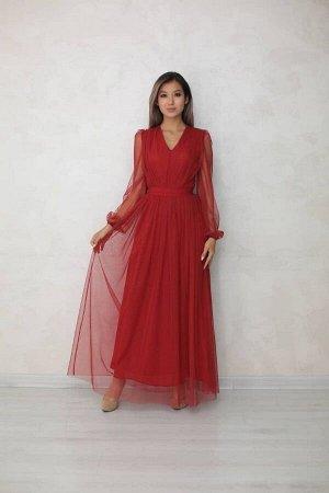 Платье Фатиновое платье Длина изделия 151 см Маломерит на размер