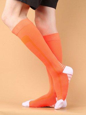 Мужские футбольные носки в полоску
