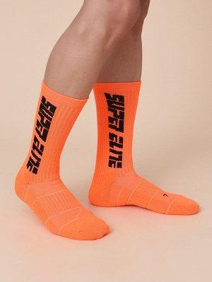 Мужские носки с текстовым принтом