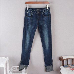 Классные джинсы  с замочками 42-44 размер