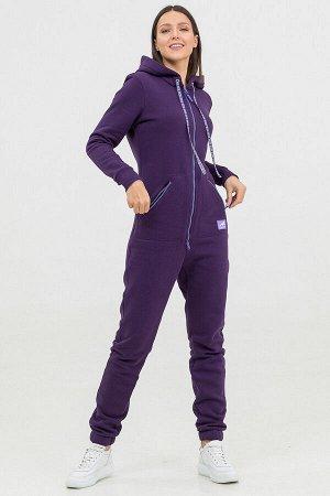 Комбинезон Siberian женский с начесом фиолетовый