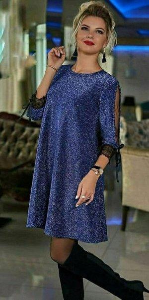 Платье Ткань люрекс