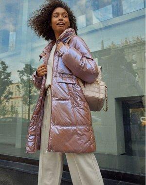 Куртка женская демисезонная лиловая