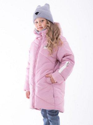 101433/3 (лиловый) Пальто для девочки