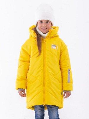 101433/2 (желтый) Пальто для девочки