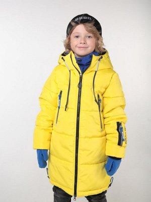 101440/1 (желтый) Пальто для мальчика
