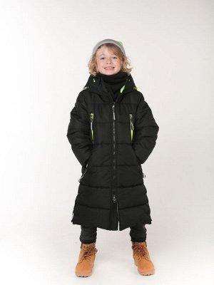 101441/1 (черный) Пальто для мальчика