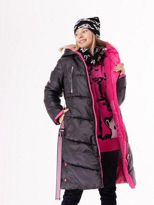 101557/2 (черный) Пальто для девочки