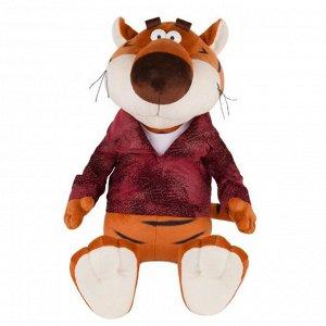 Мягкая игрушка «Тигр Костян в кожаной куртке», 25 см