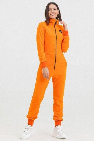 Комбинезон Country Fleece женский флисовый оранжевый