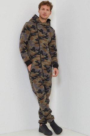 Комбинезон Urban мужской с начесом камуфляж