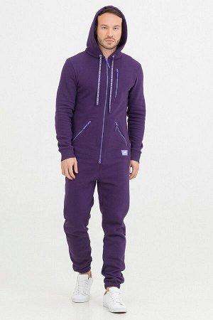 Комбинезон Siberian мужской с начесом фиолетовый