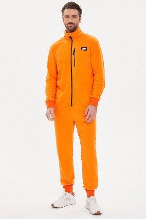 Комбинезон Country Fleece мужской флисовый оранжевый