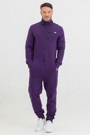 Комбинезон Country мужской с начесом фиолетовый