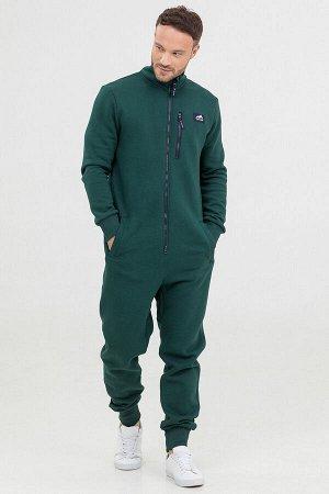 Комбинезон Country мужской с начесом темно-зеленый