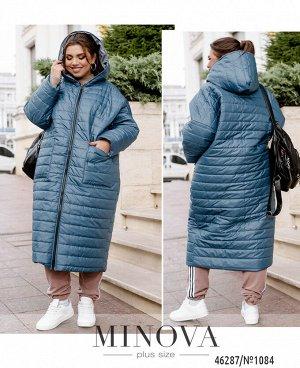 Куртка №1084-джинс