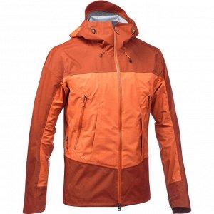 Куртка для горных походов водонепроницаемая мужская TREK 500 FORCLAZ