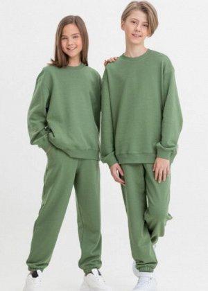 Свитшот Comfort для подростков оливковый