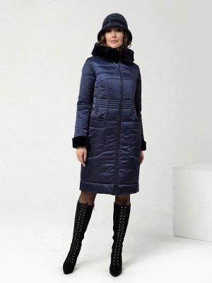 Пальто т.синий