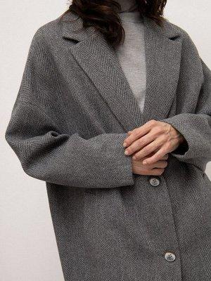Пальто прямого кроя R091/garieta