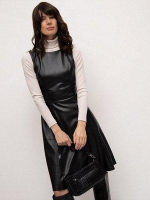 Платье из экокожи PL1196/monler