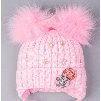 Новое поступление зимних шапок от Русбубона — Зимние шапки для девочек