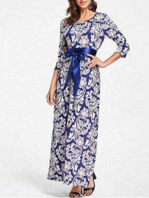 Элегантное платье в пол 42-44 размер
