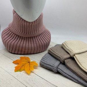 Снуд Снуд-горлышко плотное, эластичное переплетение, не вытягивается в процессе носки. Можно носить как воротник. Плотная вязка согреет даже в самые сильные иорозы. Состав: Хлопок 50% Вискоза 30% Поли