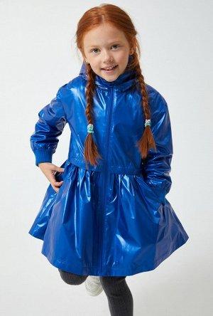 Плащ детский для девочек Couture холодный синий