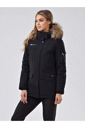 Женская куртка-парка Azimuth В 20697_75 Черный