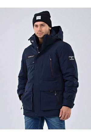 Мужская куртка-парка Alpha Endless 19519 Темно-синий